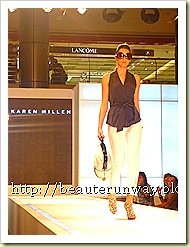 karen millen spring summer fashion show 1