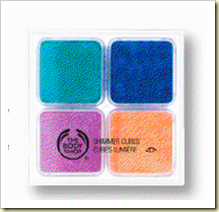 the body shop shimmer cubes spring 2010