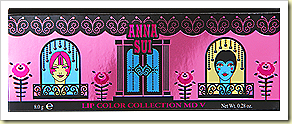 anna sui Lip Color Palette