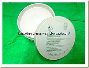 nutriganics body shop smoothing mask
