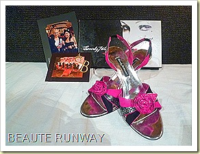 Beverly Feldman Autographed shoes