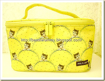 Paul & Joe Kitty Vanity Case