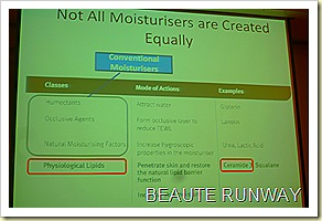 different types f moisturisers