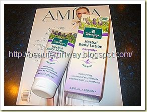 Kneipp Lavender Body lotion Amica Kinokuniya