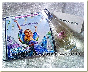 The Body Shop Dreams Unlimited Press Pack  (2)