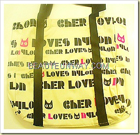 CHER loves Nylon Bag Kinokuniya