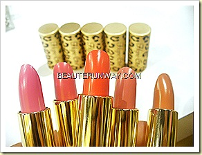 Hope Girl Lip Sticks frosty pink, rose, coral, pinkbeige and nude beige