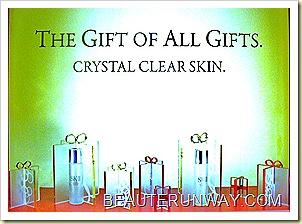 SKII Crystal clear skin