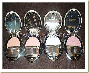 Cosme Decorte AQ Face Colours Blusher and highlighters