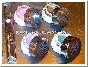 Topshop eyeliner facet, etch, steely, ravine,