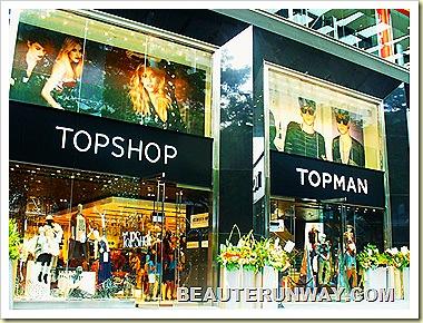 Topshop Topman Singapore Knightsbridge