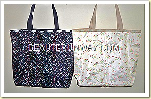 LeSportsac emook tote bag stardust and berry blossom Spring Summer 2011