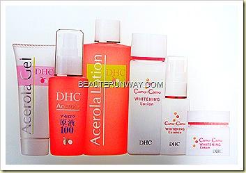 DHC Acerola Skincare Camu Camu Whitening Skincare at Watsons