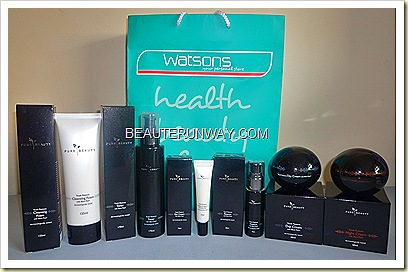 PURE BEAUTY WATSONS youth restore black pearl anti-aging skincare