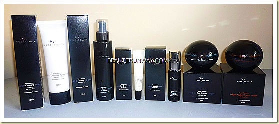 PURE BEAUTY YOUTH RESTORE BLACK PEARL ANTI-AGING SKINCARE RANGE