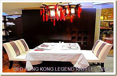 Old Hong Kong Legend at Raffles City