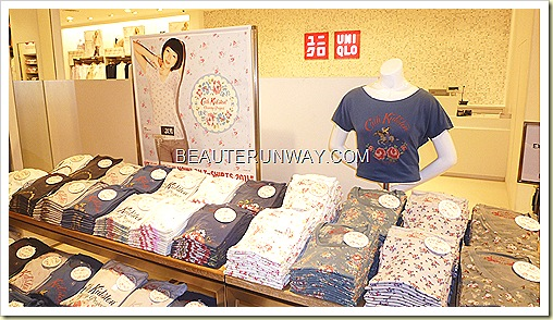 Cath Kidston Charity Project Uniqlo t-shirts