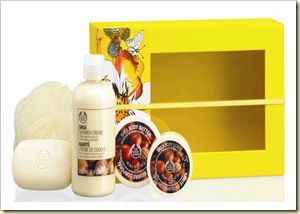 The Body Shop Shea Shower Scrub and Soften Collection