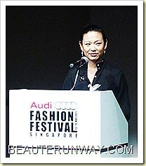 Audi Fashion Festival Director Tjin Lee