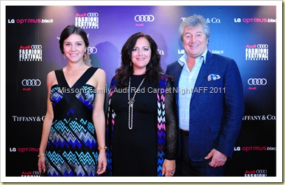 Missoni Audi Fashion Festival Singapore Red Carpet Gala Night
