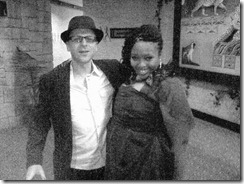Graeme Sacks & Relebogile Mabotja at the SA Music Awards