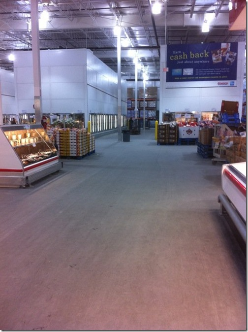 costco empty