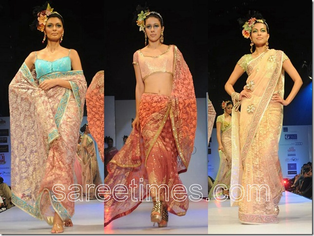 Neeta-Lulla-Saree-Collection-Hyderabad-Fashion-Week-2010