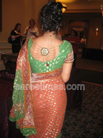 Re: Silk saree blouse designs