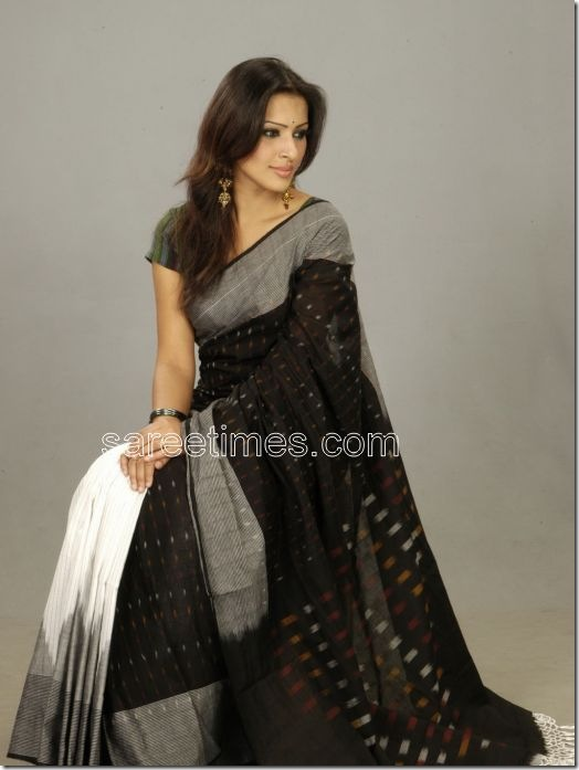 Tinni-Black-Cotton-Saree