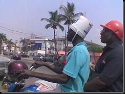 Nigerian helmets