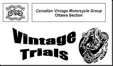 Vintage Trials notice