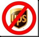 No UPS