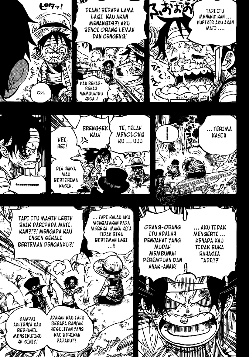 Komik One Piece