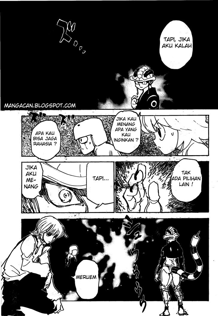 Manga Komik Hunter X Hunter 309 Indo
