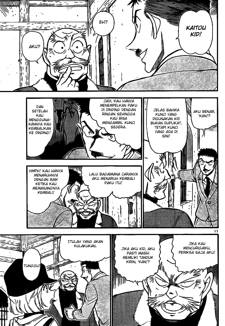 Manga Comic Detective Conan Indonesia Chapter 713 – Burung Merah