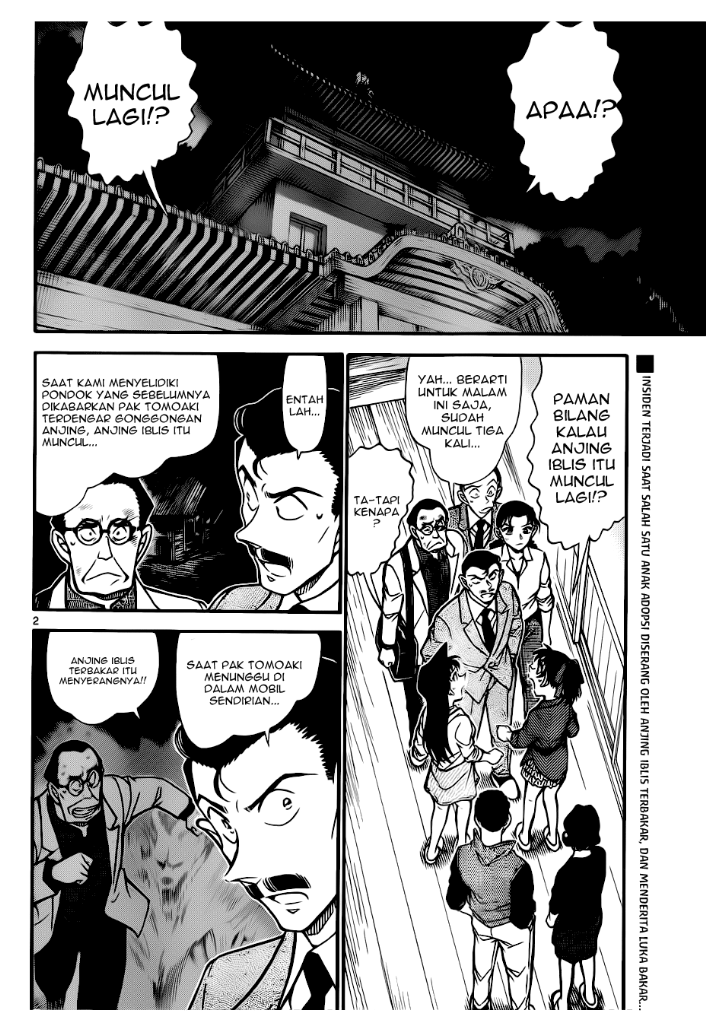 Manga Komik Detective Conan 739 Indo