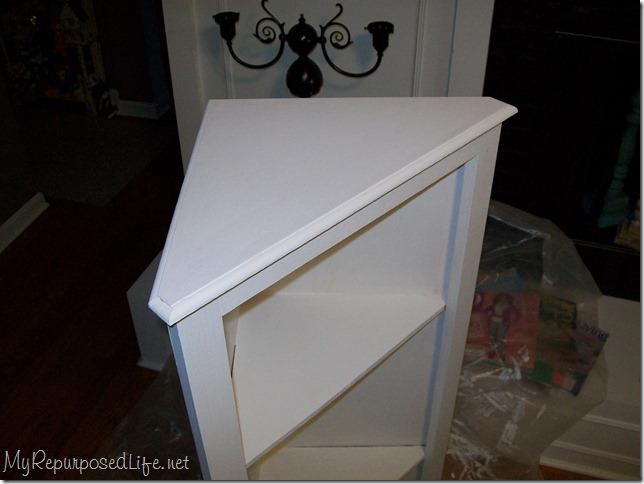 DIY Corner cabinet