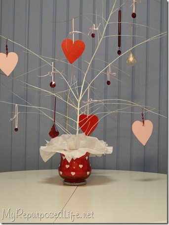 valentine hearts tree