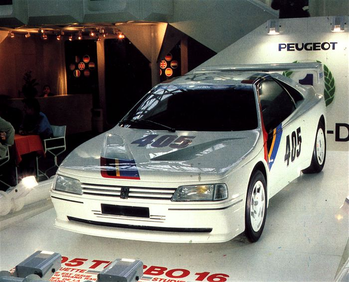 Peugeot 405 Turbo 16 Coupe