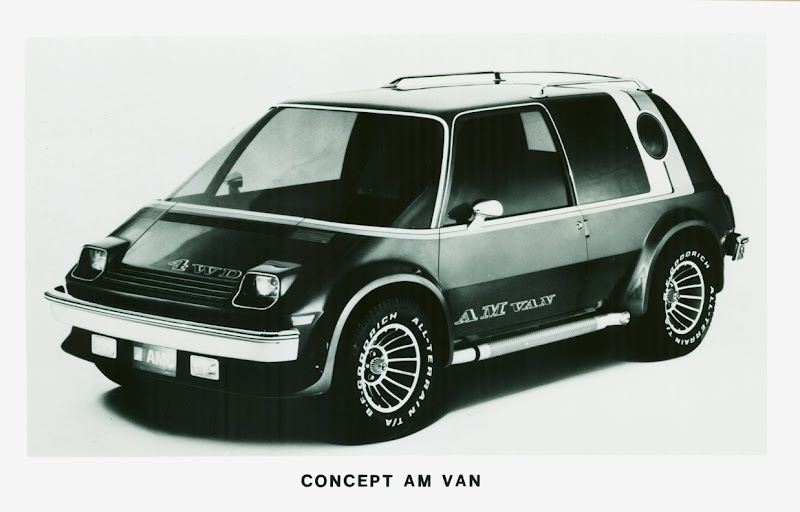 Amc 2 concept am van for Am motors used cars