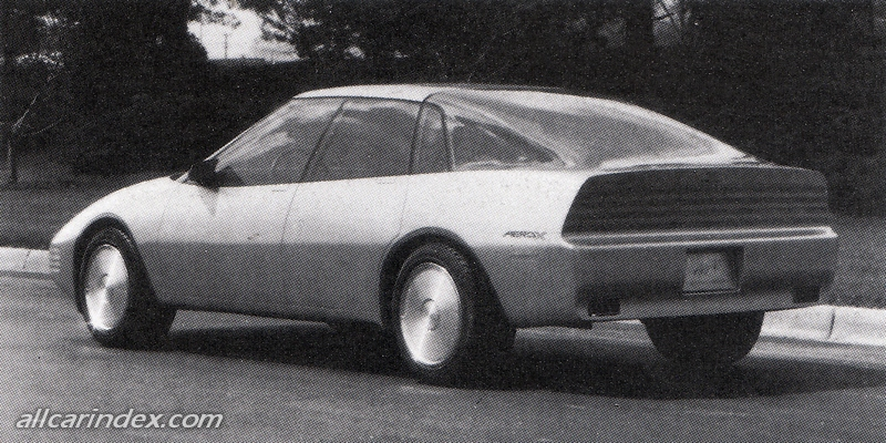 General Motors Aero X
