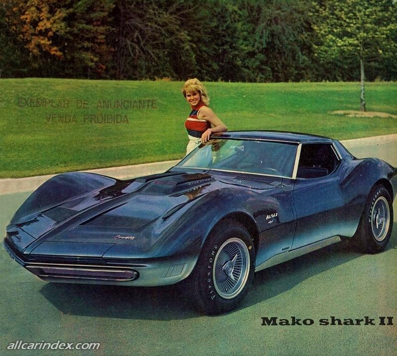 Chevrolet Mako Shark II XP 830 Manta Ray
