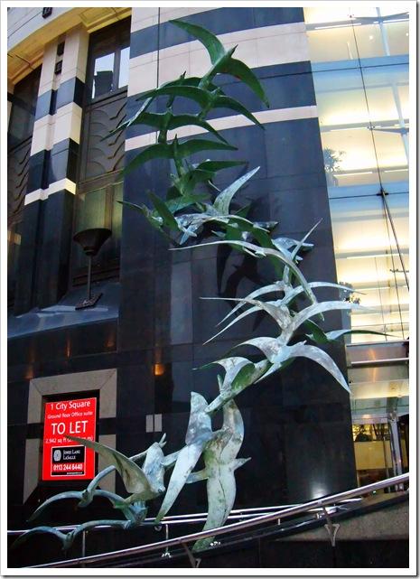 let your spirit soar seagull sculpture colour