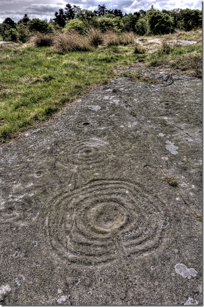 northumbrian rock art at Weetwood
