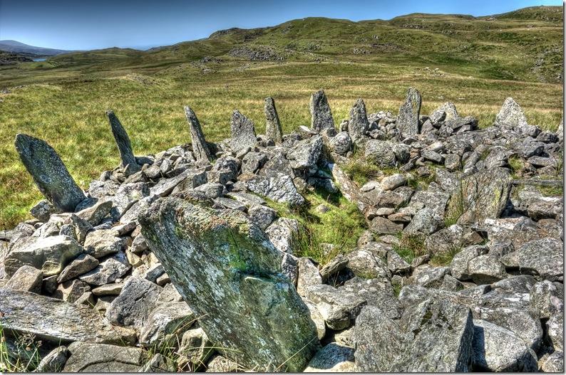 bryn cader faner bronze age ring cairn snowdonia