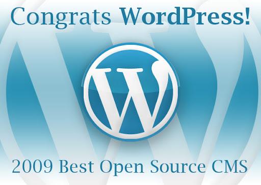 Wordpress CMS Terbaik 2009