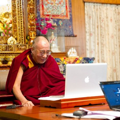 Dalai Lama is a Mac addict