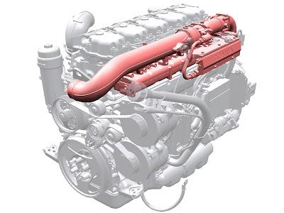 Scania CNG. Silnik gazowy zasilany metanem