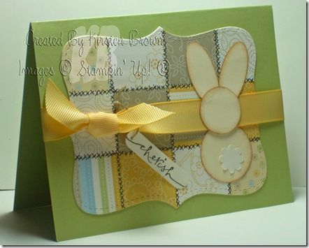 quilted bunny