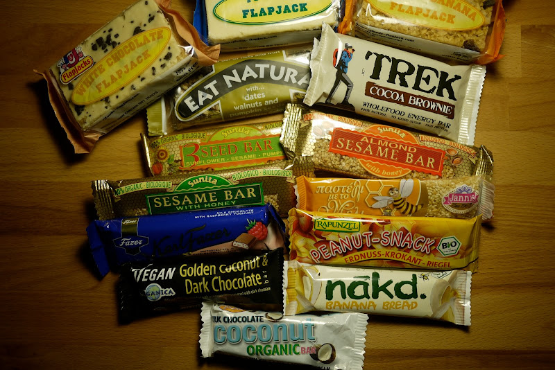 Trail Food Cereal And Chocolate Bars Hiking In Finland